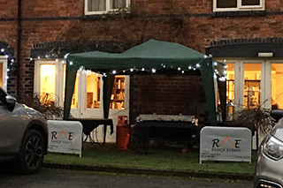 Range Events' Hog Roast and Marquee Hire at The Inn at Grinshill
