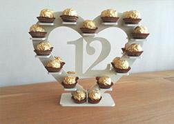 12 Ferrero Roche Stand
