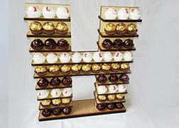 Letter H Ferrero Roche Stand